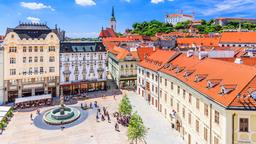 Find cheap flights from Vancouver Intl to Bratislava