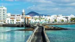 Find cheap flights from Ontario to Arrecife