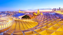 Find First Class Flights to Seville