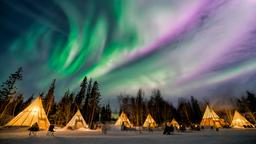 Find cheap flights from Hong Kong to Yellowknife