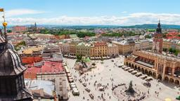 Find cheap flights from British Columbia to Krakow