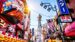 Find cheap flights from Victoria to Osaka