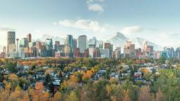Find cheap flights from North Holland to Calgary