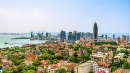Find cheap flights from Ontario to Qingdao