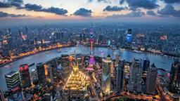 Find cheap flights from Québec City to Shanghai