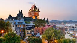Find cheap flights from Middle East to Québec City