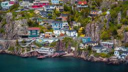 Find cheap flights from North America to St. John's
