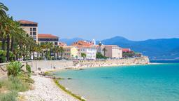 Find cheap flights from Quebec to Ajaccio