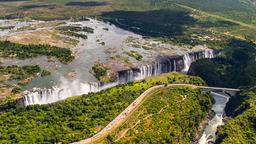 Find cheap flights from Quebec to Victoria Falls