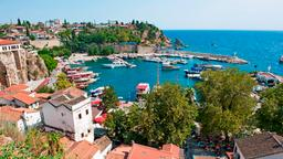 Find cheap flights from Victoria to Antalya