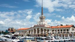 Sochi hotels near Anchor and Cannon Monument