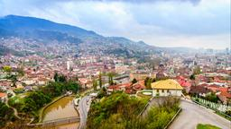 Find cheap flights from Toronto Pearson Airport to Sarajevo