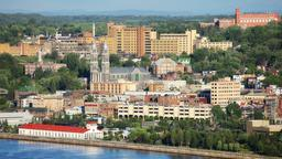 Find cheap flights from Kalamazoo to Quebec