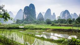 Find cheap flights from Toronto Pearson Intl to Guilin