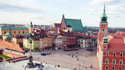 Find cheap flights from Toronto Island to Warsaw