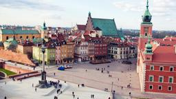 Find cheap flights from Alberta to Warsaw