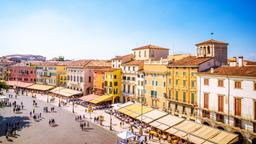 Find cheap flights from Québec City to Verona