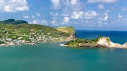 Find cheap flights from Montreal Trudeau Airport to Saint Lucia